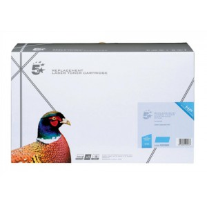 5 Star Compatible Laser Toner Cartridge Page Life 10000pp Cyan for HP Q5951A