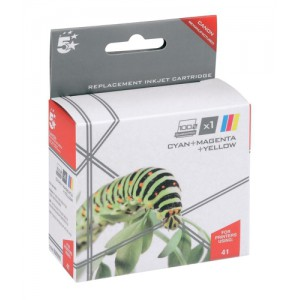 5 Star Compatible Inkjet Cartridge Colour for Canon CL-41