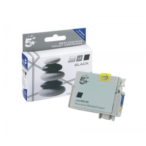 5 Star Compatible Inkjet Cartridge Black for Epson T071140