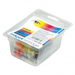 5 Star Compatible Inkjet Cartridges Black/Cyan/Magenta/Yellow [Epson T07154010 Alternative] [Pack 4]