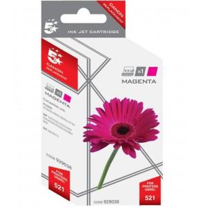 5 Star Compatible Inkjet Cartridge Page Life 470pp Magenta [Canon CLI-521M Alternative]