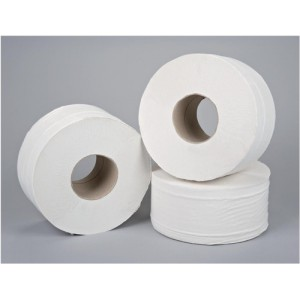 5 Star Jumbo Roll 2-ply 9x38cm 200m [Pack 12]