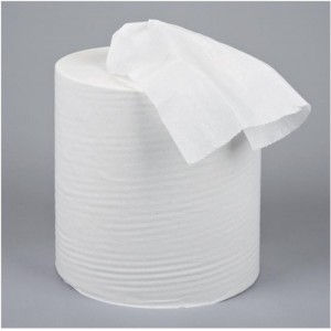 5 Star Centrefeed Tissue Refill for Dispenser White One-ply 120m [Pack 12]