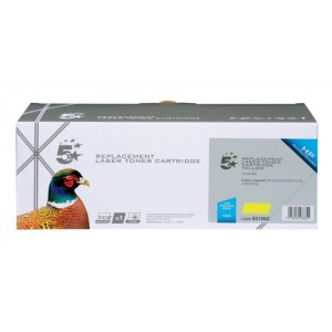 5 Star Compatible Laser Toner Cartridge Page Life 1400pp Yellow