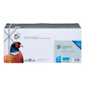 5 Star Compatible Laser Toner Cartridge Page Life 2800pp Cyan