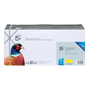5 Star Compatible Laser Toner Cartridge Page Life 2800pp Yellow [HP No. 304A CC532A Alternative]