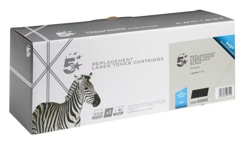 5 Star Compatible Laser Toner Cartridge Page Life 1600pp Black [HP No. 85A CE285A Alternative]