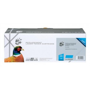 5 Star Compatible Laser Toner Cartridge Page Life 1300pp Cyan HP No. 128A CE321A Equivalent