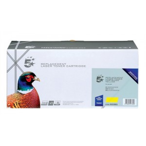 5 Star Compatible Laser Toner Cartridge Page Life 1400pp Yellow Brother TN230Y Equivalent