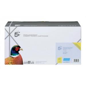 5 Star Compatible Laser Toner Cartridge Page Life 1000pp Cyan [Samsung CLT-C4072S Alternative]