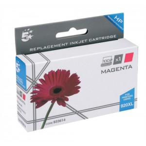 5 Star Compatible Inkjet Cartridge Page Life 700pp Magenta HP No. 920XL CD973AE Equivalent