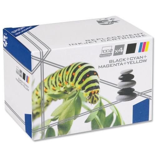 5 Star Compatible Inkjet Cartridge Black/Cyan/Magenta/Yellow [Brother LC1100VALBP Alternative] [Pack 4]