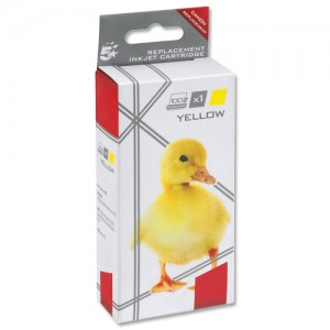 5 Star Compatible Inkjet Cartridge Page Life 545pp Yellow Canon CLI-526Y Equivalent