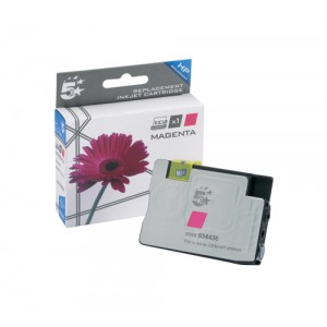 5 Star Compatible Inkjet Cartridge Page Life 825pp Magenta [HP No. 933XL CN055AE Alternative]