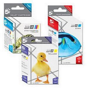 5 Star Compatible Inkjet Cartridge Page Life 2300pp Yellow [HP No. 951XL CN048AE Alternative]