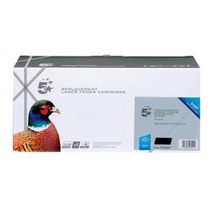 5 Star Compatible HP 304A CC530AD Toner Cartridge Black Pack 2