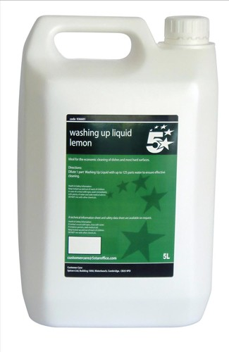 5 Star Lemon Washing-Up Liquid