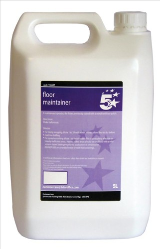 5 Star Floor Maintainer 5 Litre
