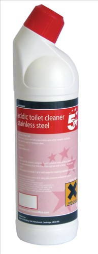 5 Star Acidic Toilet Cleaner 1 Litre
