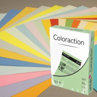 Image for Coloraction Tinted Paper Neon Pink (Malibu) FSC4 A4 210X297mm 80Gm2 Pack 500