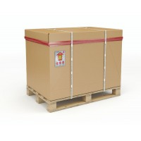 Image for 1/1 Full Palletised Container 1070 x 870 x 900mm Pallet/Cap/Sleeve/Tray