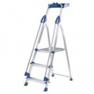Abru Blue Seal 3-Tread Professional Aluminium Step Ladder 10503