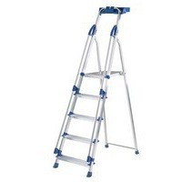 Abru Blue Seal 5-Tread Professional Aluminium Step Ladder 10505