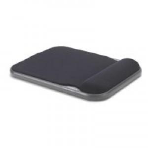 Acco Kensington Height Adjustable Gel Mouse Rest Black 57711