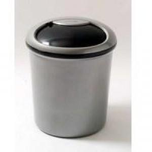 Addis Smart Round Bin Lid Metallic/Graphite