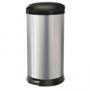 Addis Soft Close Bin 30 Litre Stainless Steel 507650