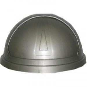 Addis Bullet Bin 50 Litre Lid Grey 507826