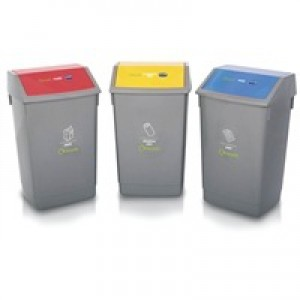 Addis Recycling Bin Kit Pack of 3 505575/505574