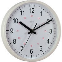 Image for Acctim Metro 12in Wht Wall Clock
