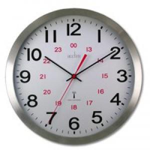 Acctim Century RC Aluminium Wall Clock 74457