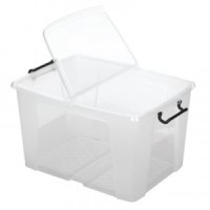 Strata Smart Box 65 Litre Clear HW686