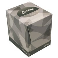 Kleenex Facial Tissues Cube 1-Fold 2-Ply White 90 Sheets 8834