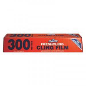 Clingfilm 300mm x300 Metres Cutter Box FP120