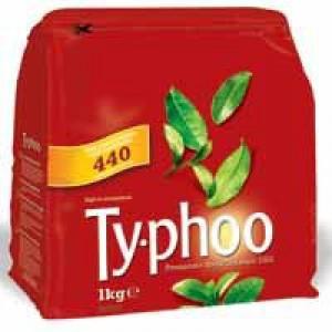 Typhoo One Cup Tea Bag Pk 440 CB030