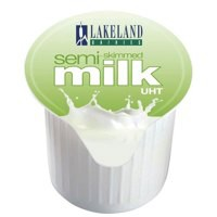 Millac Maid Half Fat Milk Pots Pack of 120