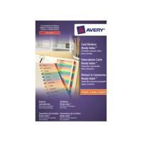 Avery Ready Index A4 Mylar A-Z 02003501