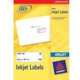 Avery QuickDRY Inkjet Label 139x99.1mm 4 per Sheet Pack of 25 J8169-25