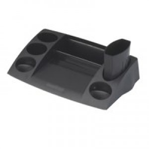 Avery DTR Desk Tidy W270xD152xH55mm Black Ref DR400BLK