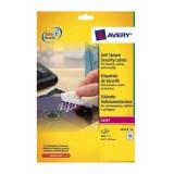 Avery Anti-Tamper Labels Laser 48TV 45.7x21.2mm Ref L6113-20 [960 Labels]