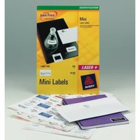 Avery Laser Mini Labels 40x25Sheets White
