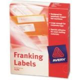 Avery Franking Label for Auto Hopper 140x38mm White FL04