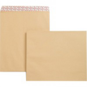 New Guardian Envelopes Heavyweight Pocket Peel and Seal Manilla 444x368mm [Pack 125]