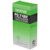 Brother Thermal Transfer Ribbon Ink Film Pack of 4 PC74RF 11321