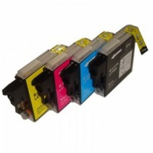 Brother LC985 Cartridge Value Pack Pack CYMK LC985VALBP