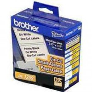 Brother QL Small Address Label 29x62mm Roll of 800 DK11209