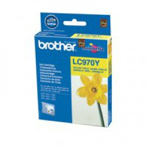 Brother DCP-135C/DCP-150C/MFC-235C Inkjet Cartridge Yellow LC-970Y